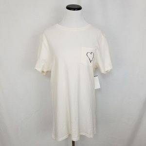 Prince Peter Collection Tops - NWT Prince Peter Heart Graphic Pocket Tee Top